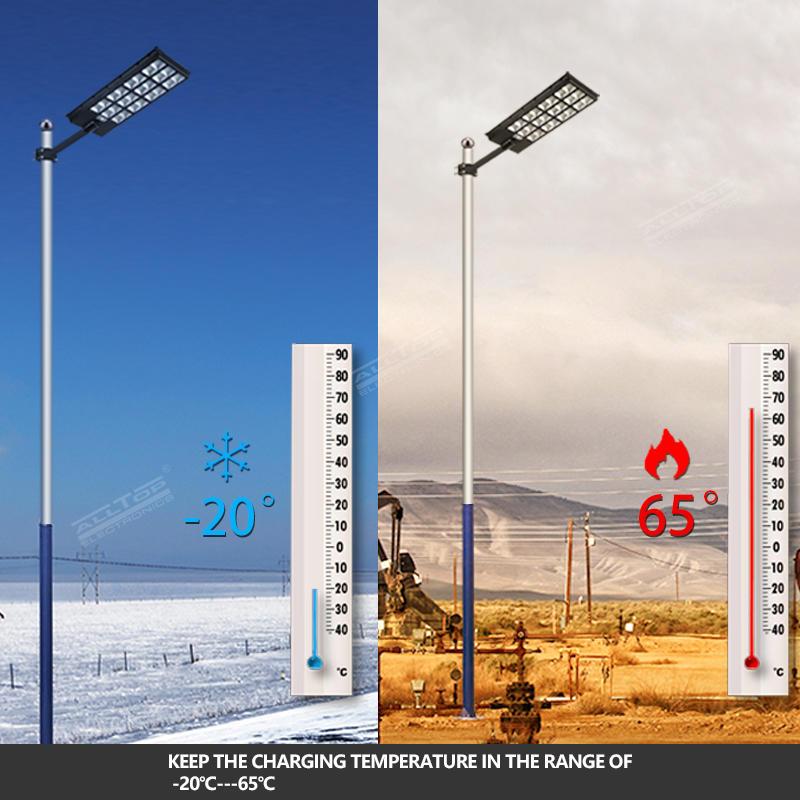 ALLTOP High Lumen Highway Waterproof Ip65 Outdoor 600w 800w 1000w All In One Led Solar Street Light