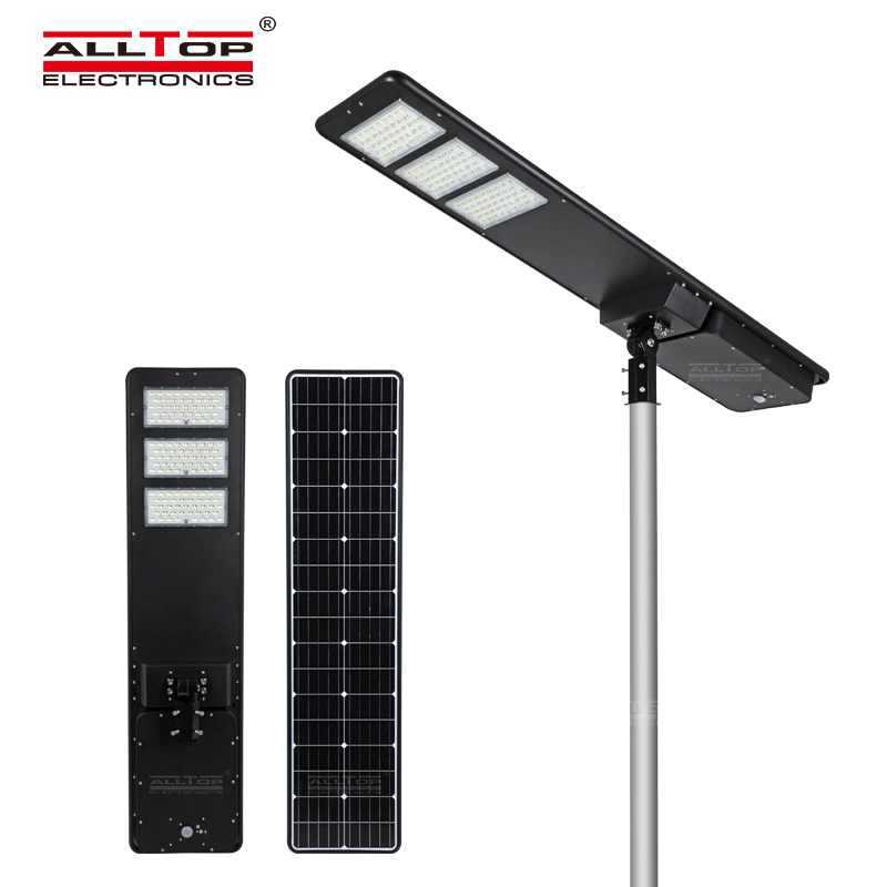 product-ALLTOP -ALLTOP All in one solar street light 300W IP65 outdoor solar street light with high