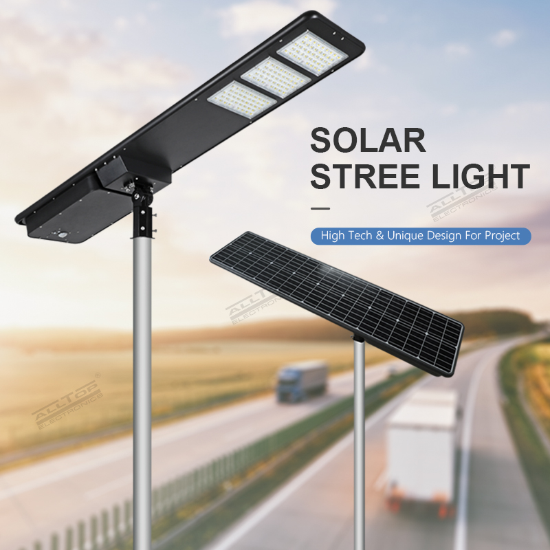 product-ALLTOP All in one solar street light 300W IP65 outdoor solar street light with high quality-