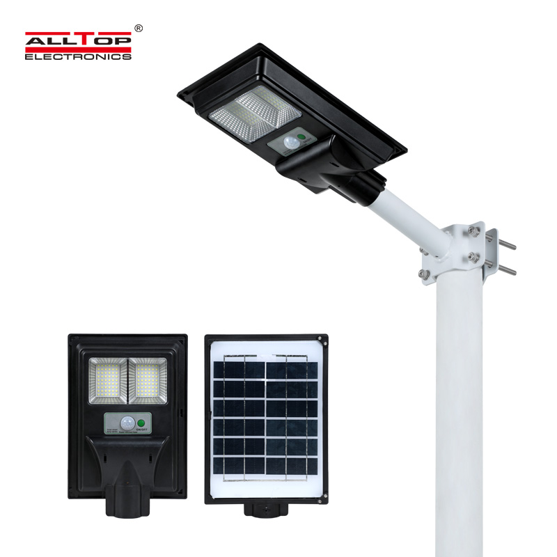 product-ALLTOP -ALLTOP New design Aluminum outdoor IP65 waterproof All In One Led Solar Street Light