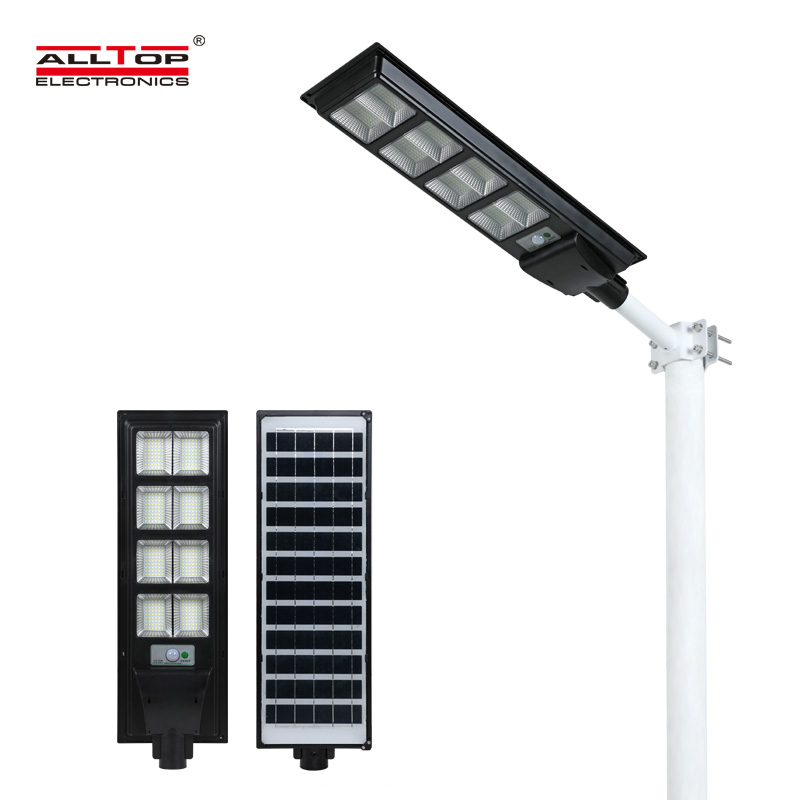 product-ALLTOP New design Aluminum outdoor IP65 waterproof All In One Led Solar Street Light-ALLTOP