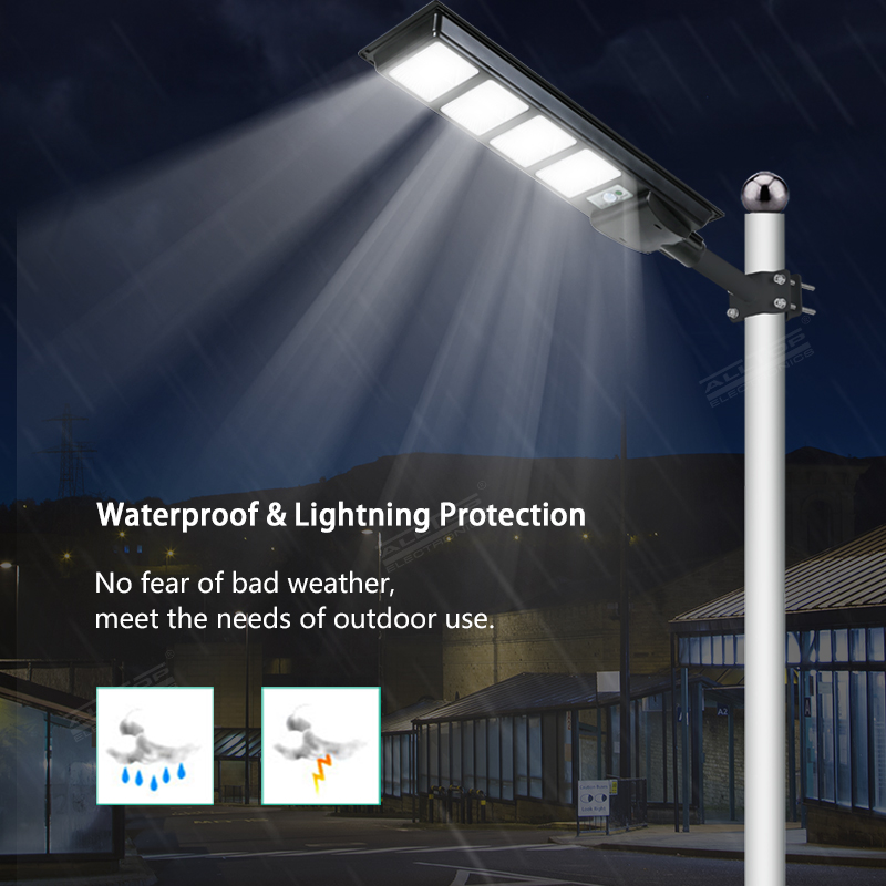 product-ALLTOP New design Aluminum outdoor IP65 waterproof All In One Led Solar Street Light-ALLTOP -1