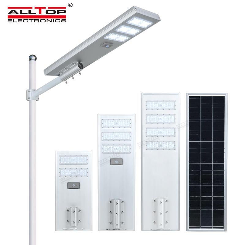 ALLTOP Outdoor waterproof ip65 New Integrated High Lumen Led Solar Street Light