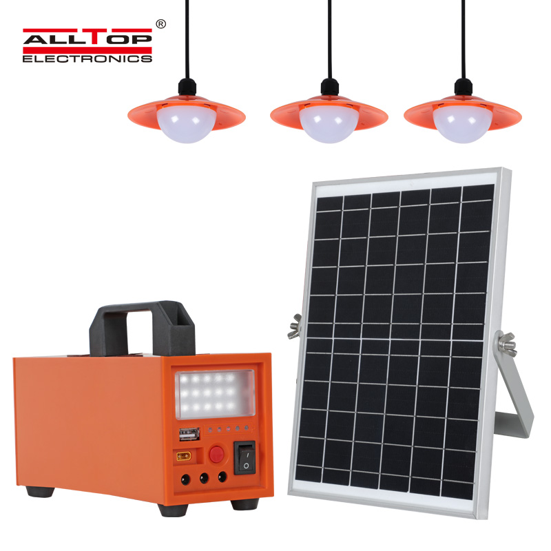 product-ALLTOP -ALLTOP New product Solar Energy Powered 20w 40w 60w Solar System-img