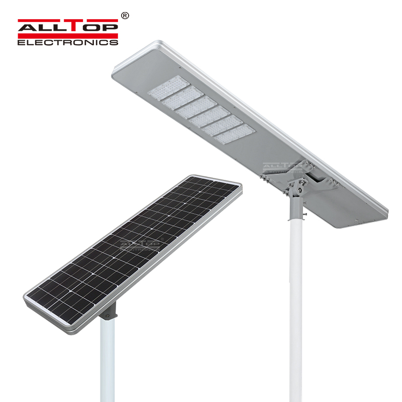 product-ALLTOP -ALLTOP 50W 100W 150W 200W IP65 outdoor integrated motion sensor all in one solar led