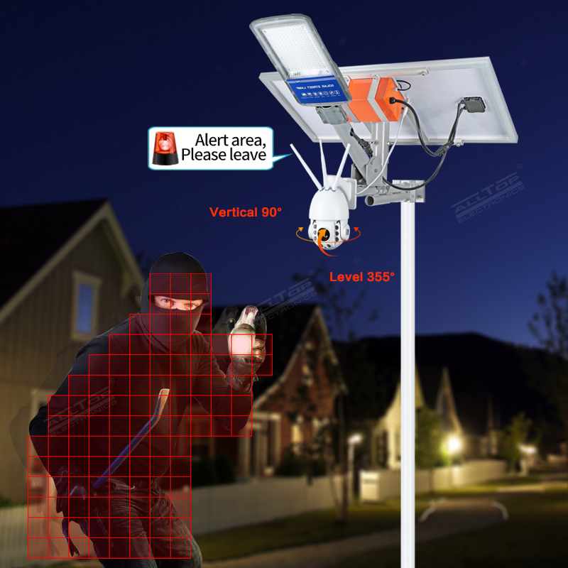 product-Alltop Remote Wireless Control 80w Solar Street Light with Wifi Cctv Camera-ALLTOP -img