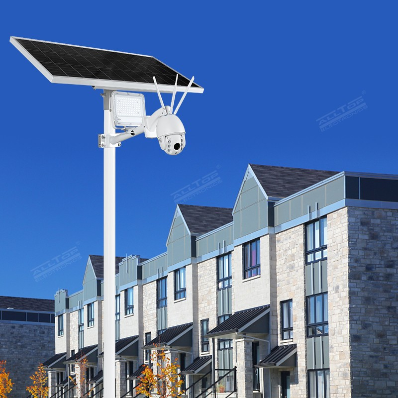 product-ALLTOP Remote Wireless Control 80w Solar Flood Light With Wifi CCTV Camera-ALLTOP -img-1