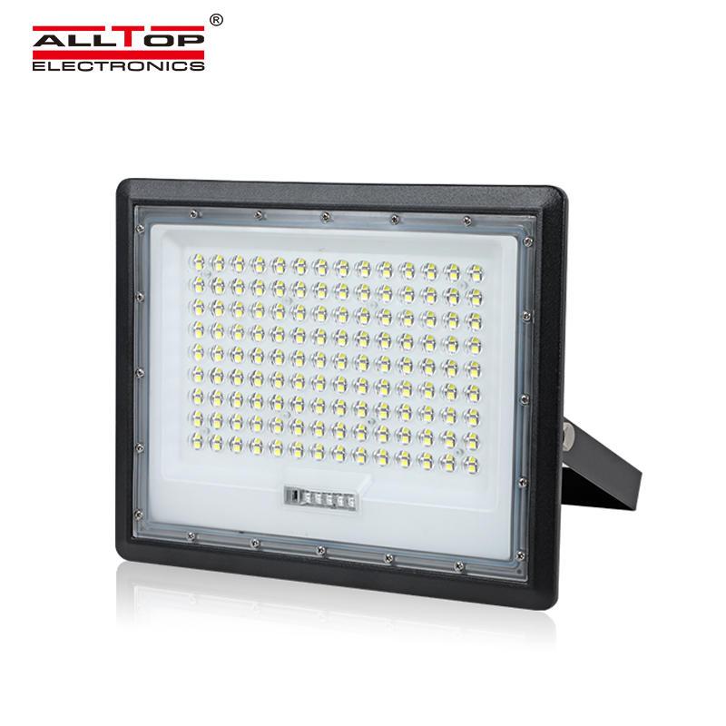ALLTOP High Lumen Outdoor Lighting Waterproof Ip65 Solar LED Flood Light