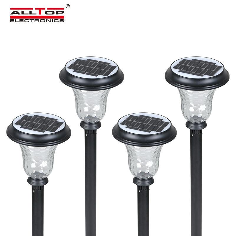 ALLTOP Energy saving modern waterproof ip65 solar garden light