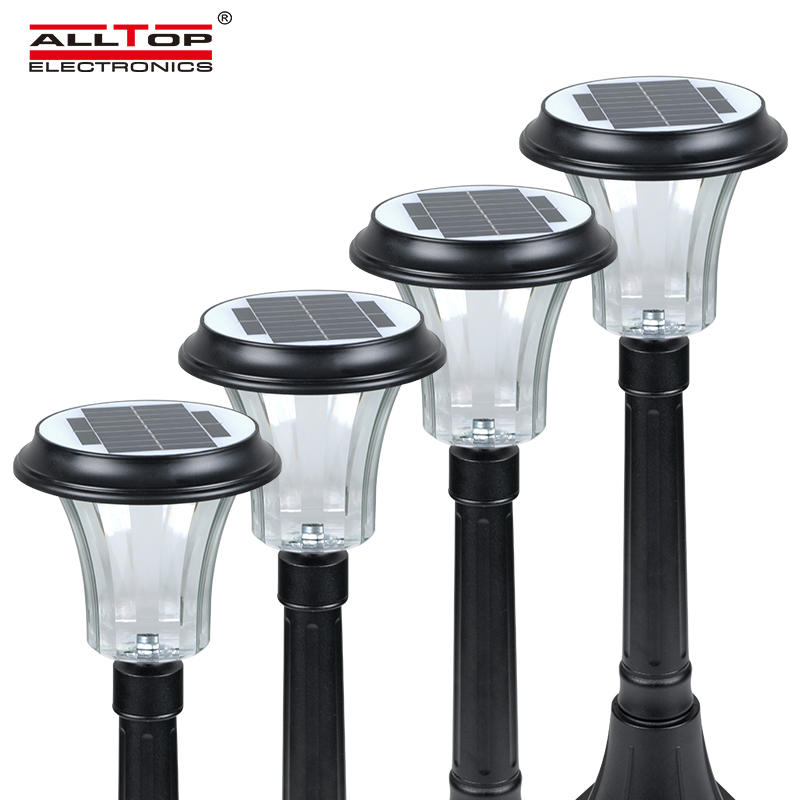 ALLTOP New Products Outdoor Lighting Waterproof Ip65  Solar Garden Light