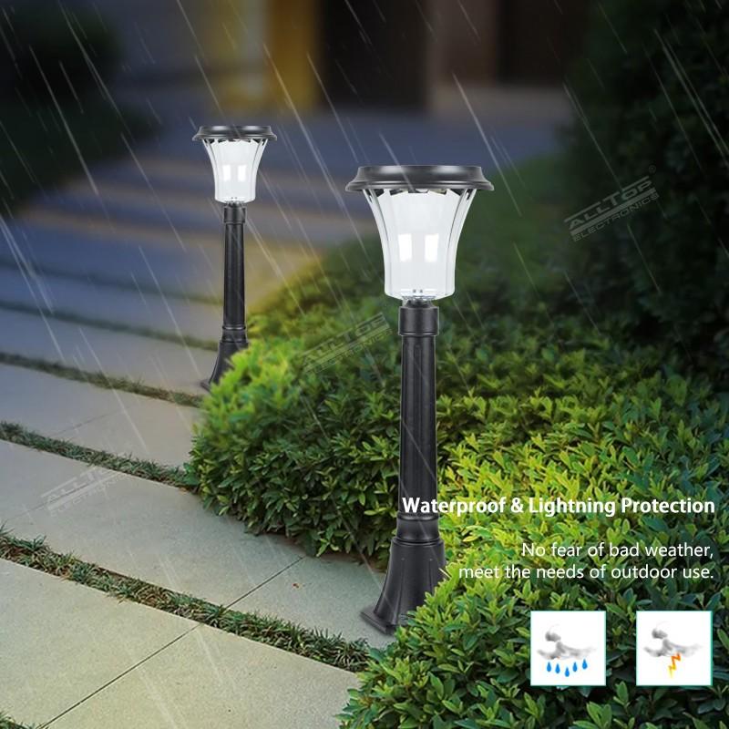 product-ALLTOP New Products Outdoor Lighting Waterproof Ip65 Solar Garden Light-ALLTOP -img