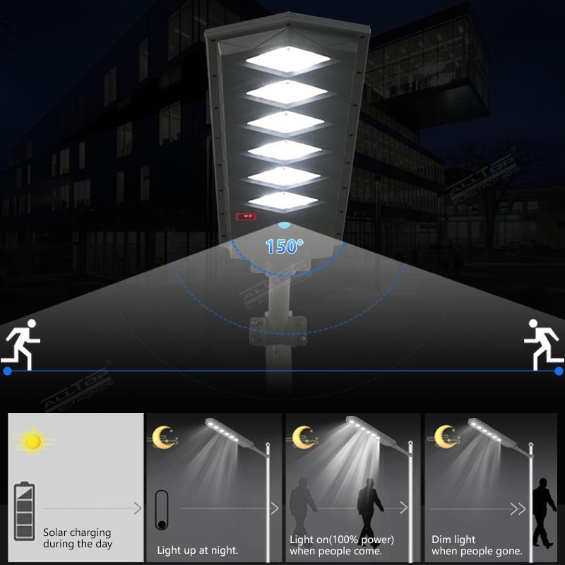 ALLTOP High Quality Aluminum Solar LED Street Light