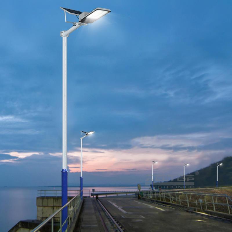 ALLTOP high quality ip65 waterproof aluminum outdoor led solar street light