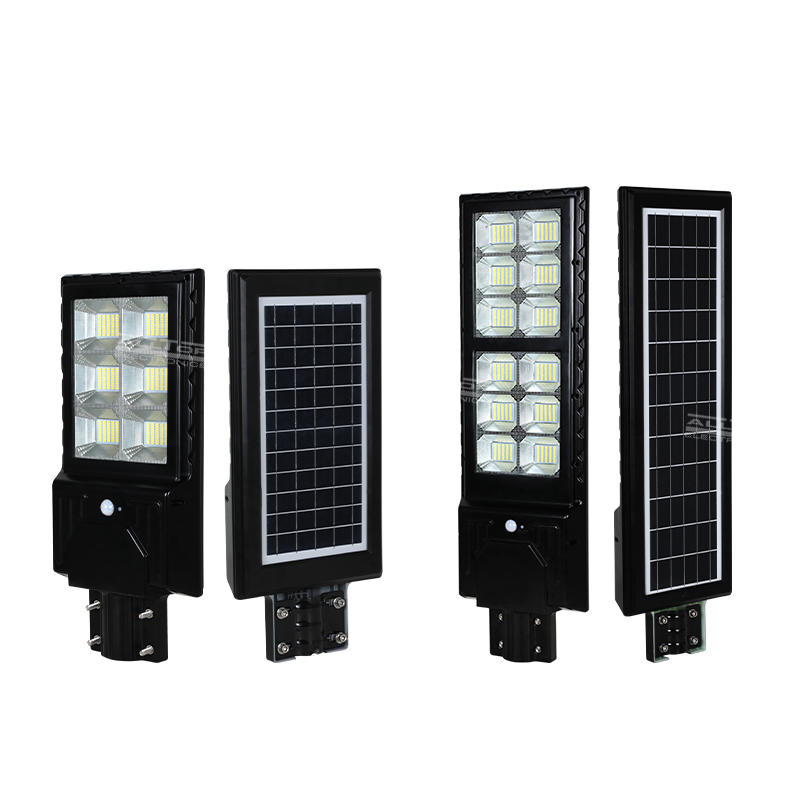 ALLTOP High Lumens Outdoor Waterproof IP65 ABS 300W 600W   Integrated All In One Solar Led Street Light