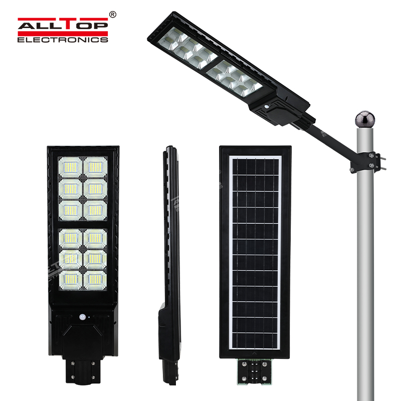 product-ALLTOP High Lumens Outdoor Waterproof IP65 ABS 300W 600W Integrated All In One Solar Led S