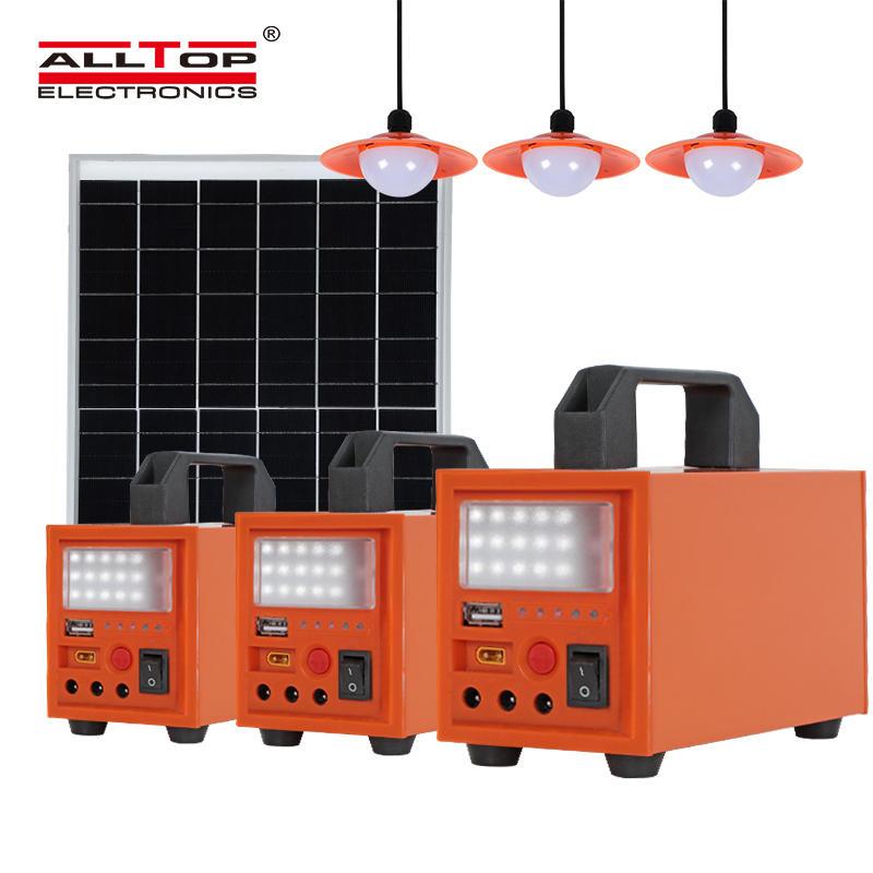 ALLTOP New product Solar Energy Powered 20w 40w 60w Solar System