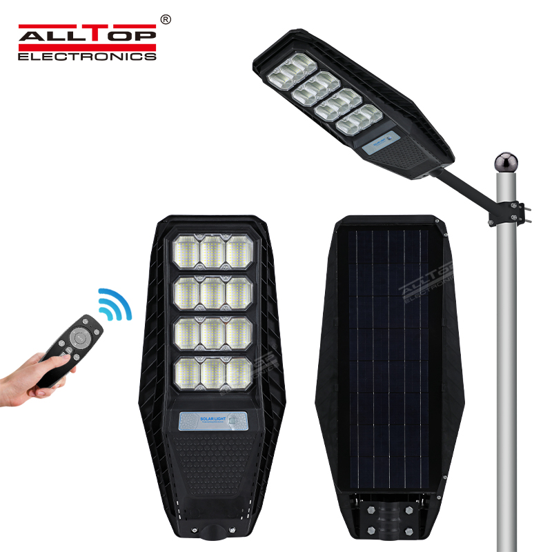product-ALLTOP Outdoor Waterproof Lighting IP65 ABS Integrated All In One Solar Led Street Light-ALL