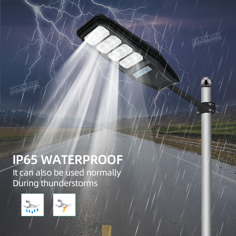 product-ALLTOP -ALLTOP Outdoor Waterproof Lighting IP65 ABS Integrated All In One Solar Led Street L