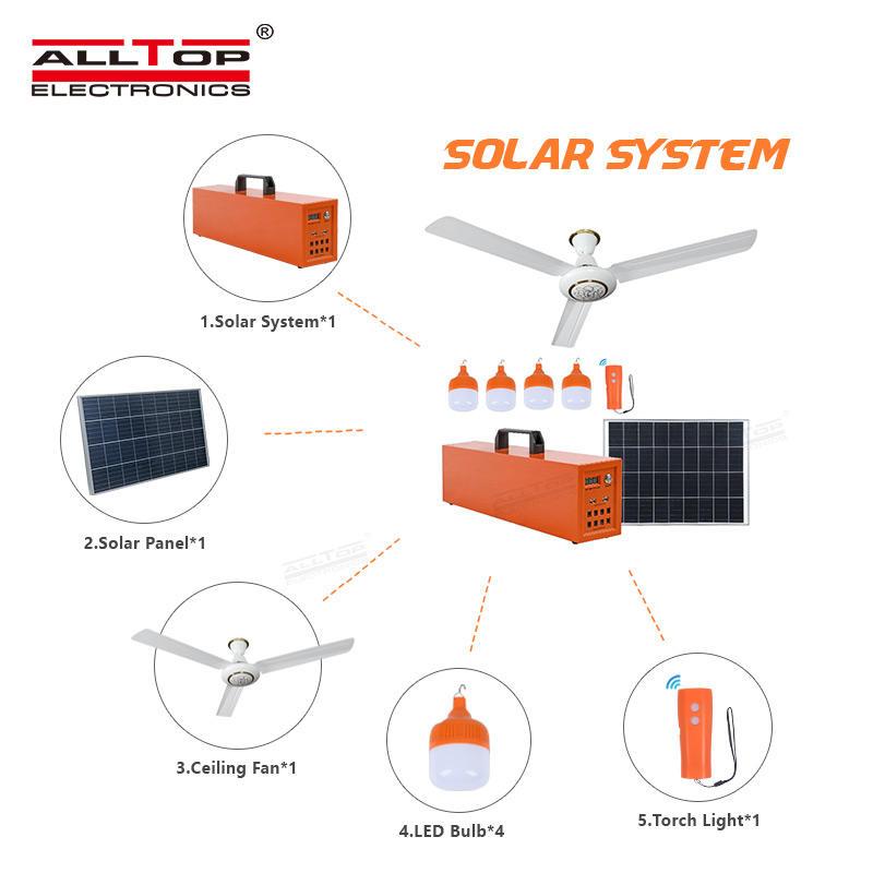ALLTOP Solar Energy Powered Bulb Portable Off Grid Home Solar System
