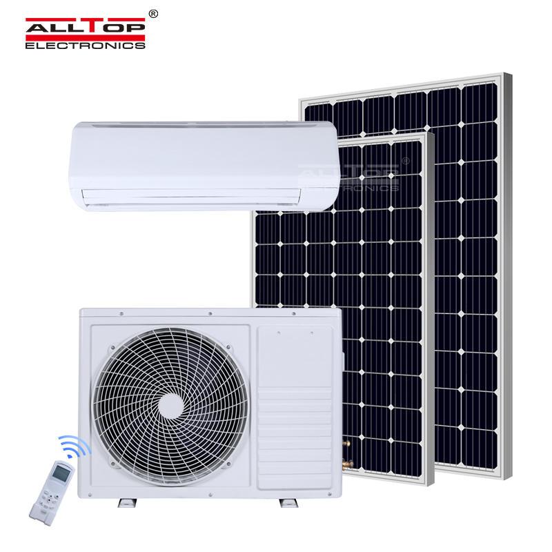 ALLTOP Hybrid off Grid Dc Inverter Solar Powered Air Conditioner Price
