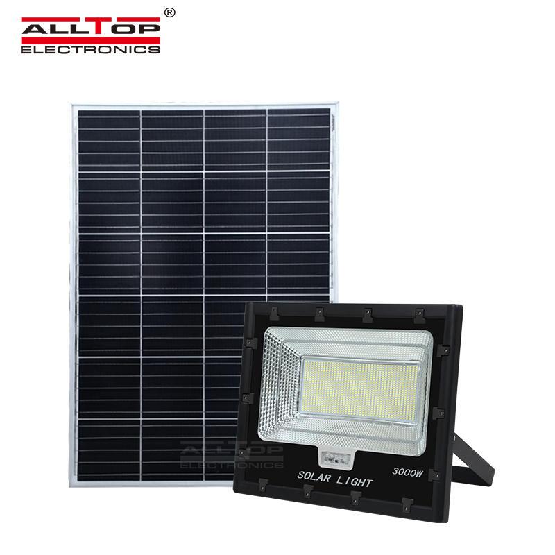 ALLTOP High Power Outdoor Waterproof IP65 3000W LED Solar Flood Light