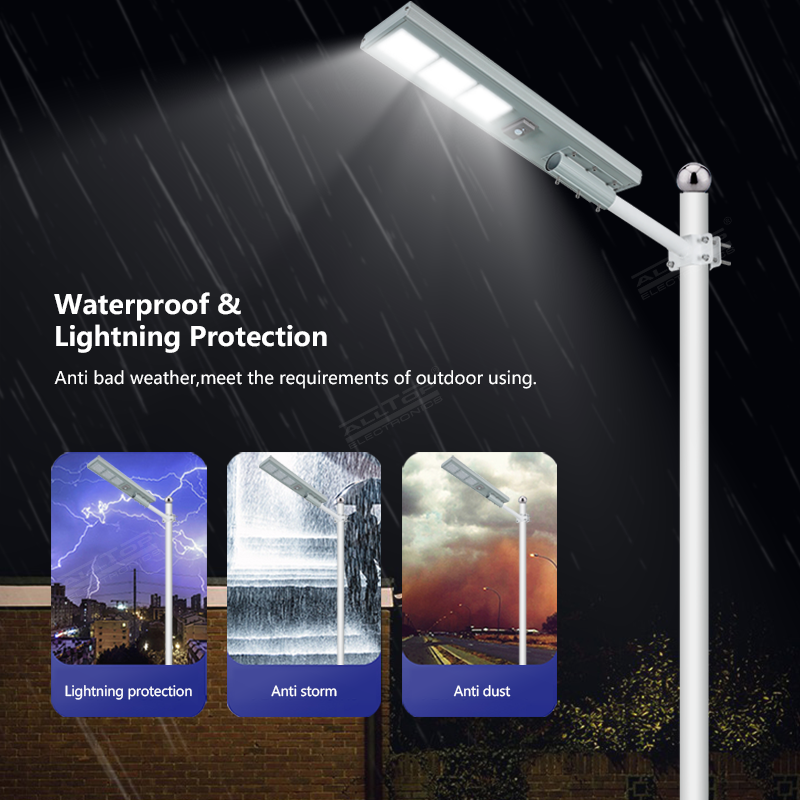 product-ALLTOP Hot products all in one die-cast aluminum outdoor solar lights-ALLTOP -img