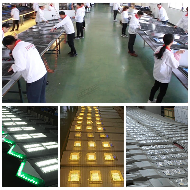 ALLTOP Super brightness high quality outdoor 160W 320W all in one solar street light