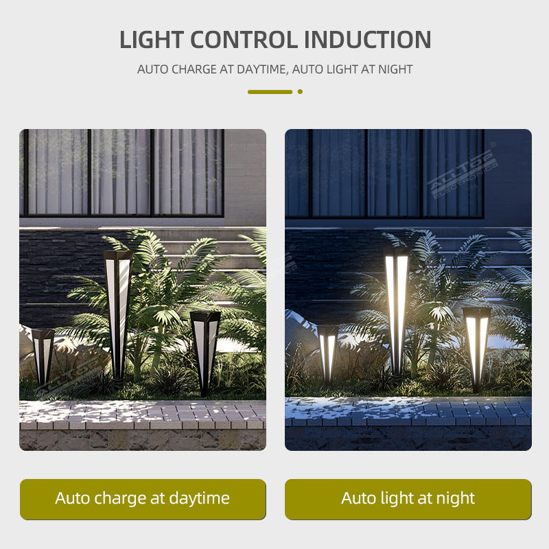 ALLTOP High Quality Waterproof Modern China price lawn decorative bollard pole outdoor waterproof IP65 led solar garden light