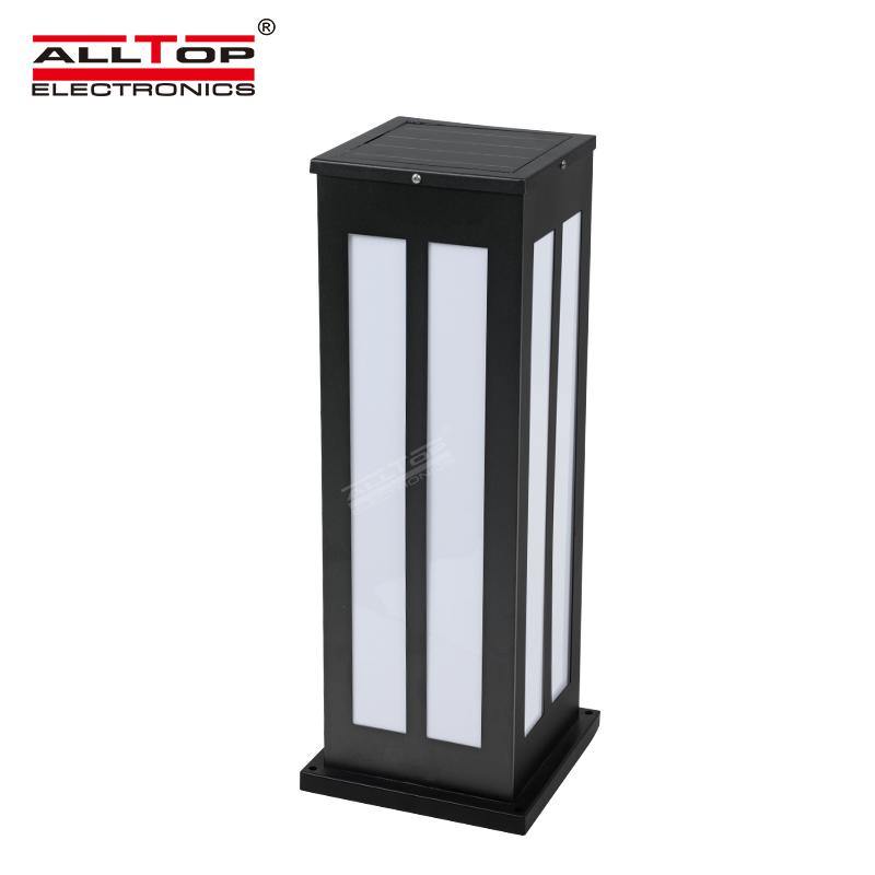 product-Alltop hot sale IP65 waterproof lawn decorative pole outdoor led solar garden light-ALLTOP -