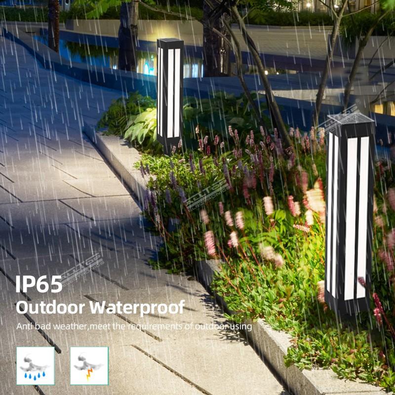 product-ALLTOP -Alltop hot sale IP65 waterproof lawn decorative pole outdoor led solar garden light-
