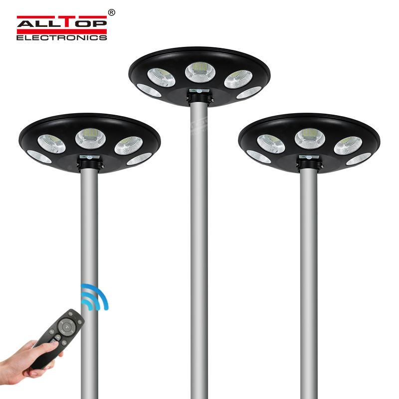 ALLTOP Outdoor waterproof IP65 microwave motion sensor street light LED solar garden light