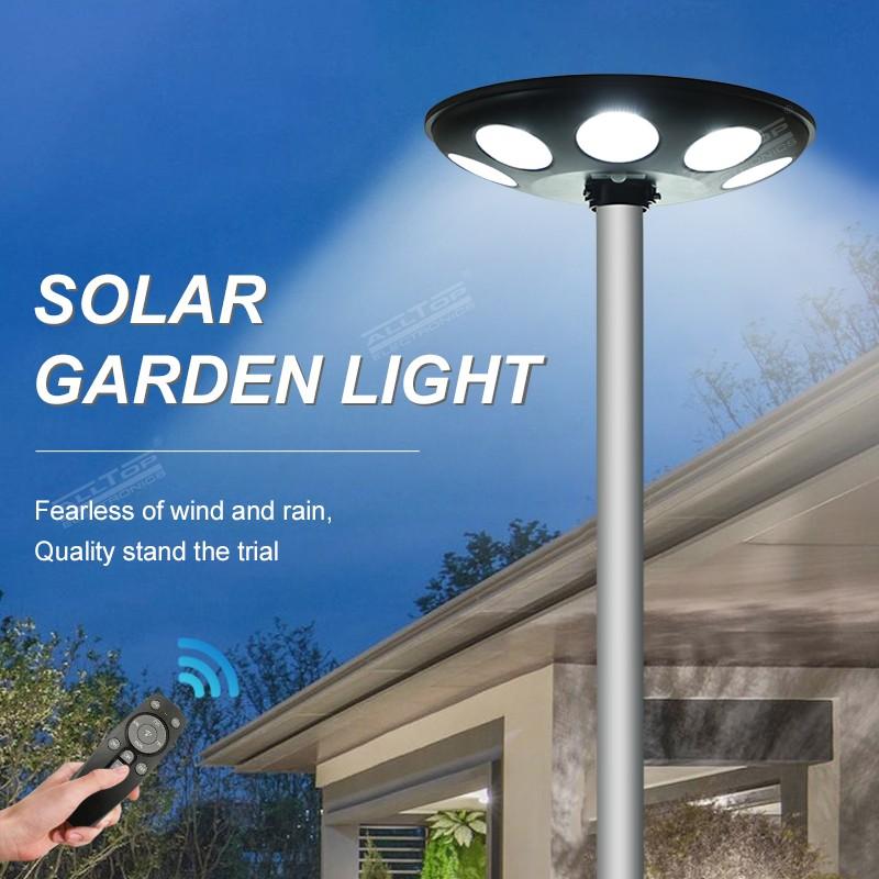 product-ALLTOP Outdoor waterproof IP65 microwave motion sensor street light LED solar garden light-A