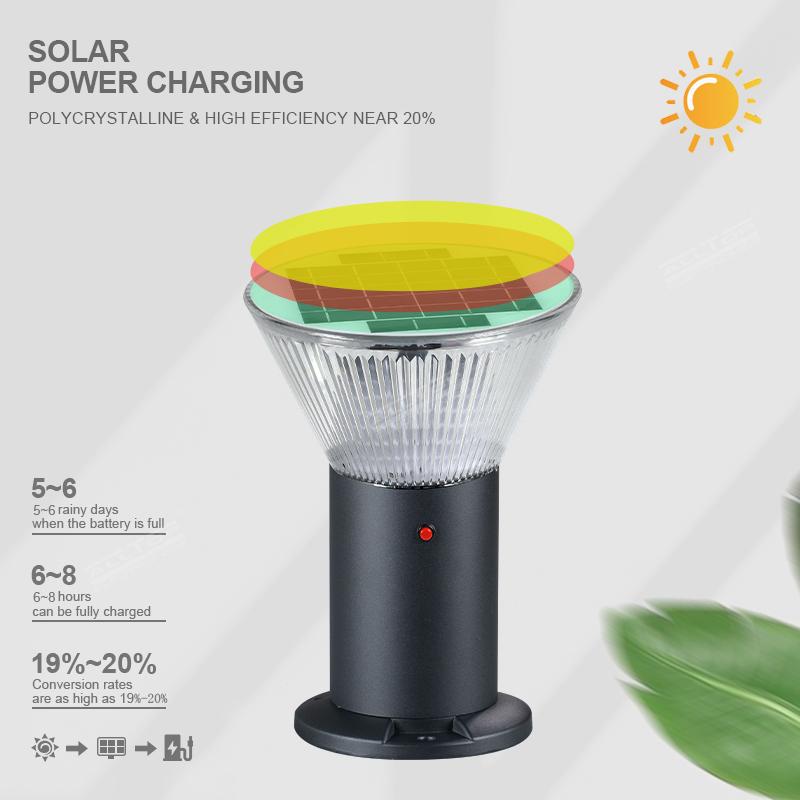 product-ALLTOP Outdoor Waterproof IP65 Solar LED Garden Lawn Light-ALLTOP -img-1