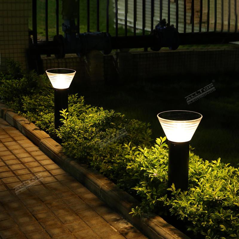 ALLTOP Outdoor Waterproof IP65 Solar LED Garden Lawn Light