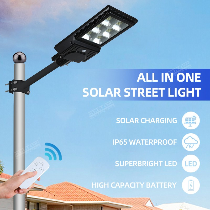 product-ALLTOP -ALLTOP High Lumens Outdoor Waterproof IP65 ABS 300W 600W Integrated All In One Sol