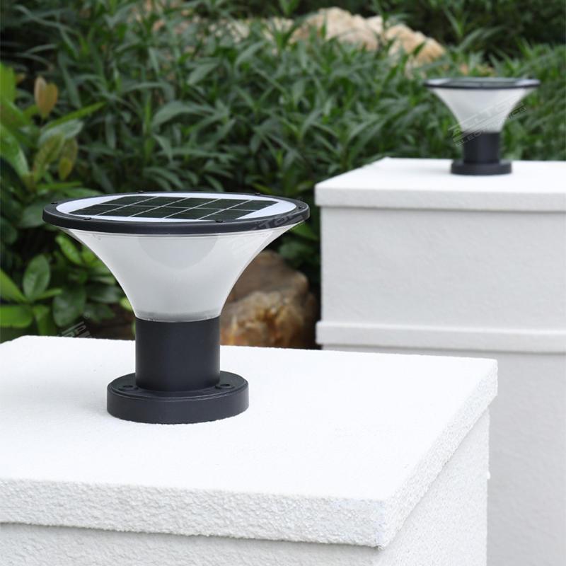 ALLTOP outdoor waterproof garden villa fence IP65 solar garden light