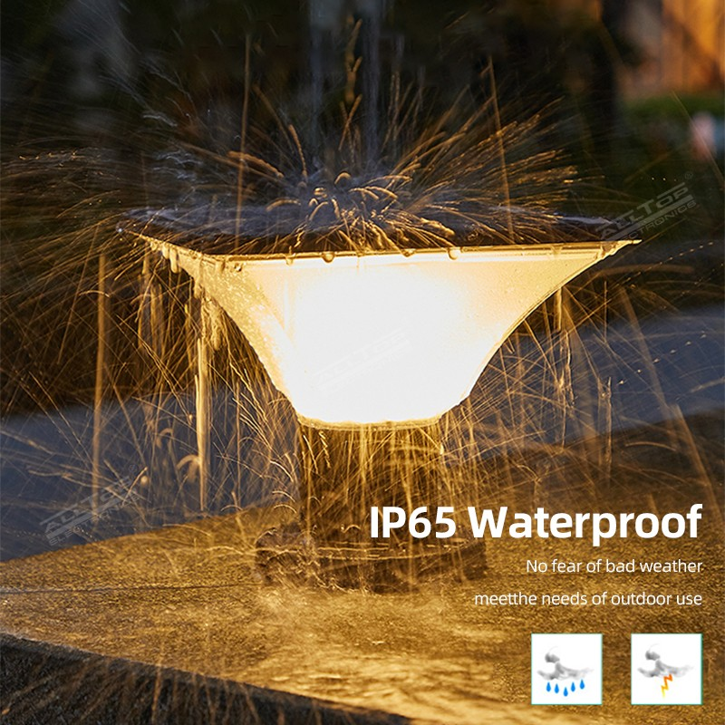 product-ALLTOP -ALLTOP outdoor waterproof garden villa fence IP65 solar garden light-img