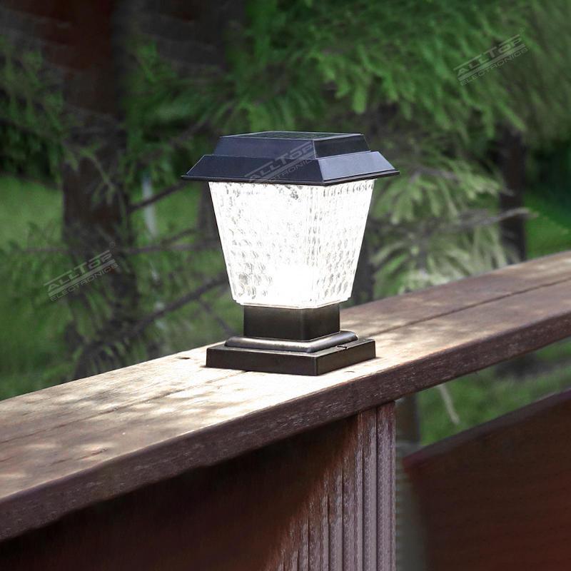 ALLTOP Garden Villa Fence Garden Decoration Energy Saving IP65 Waterproof LED Solar Garden Light