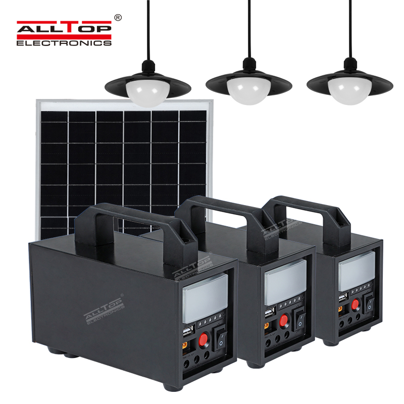 product-ALLTOP New product Solar Energy Powered 20w 40w 60w Solar System-ALLTOP -img