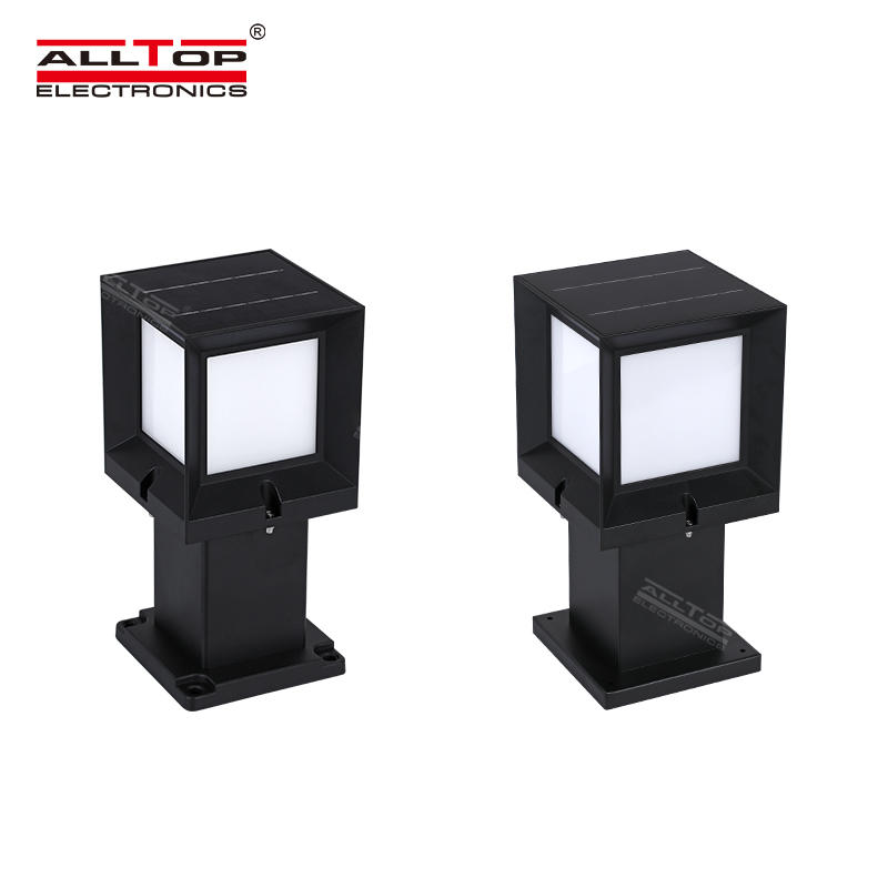 ALLTOP High quality  IP65 3w 5w outdoor lighting street solar led garden light