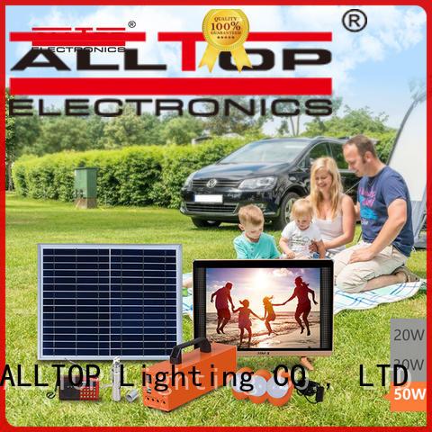 panel solar panel lighting system by-bulk for outdoor lighting ALLTOP