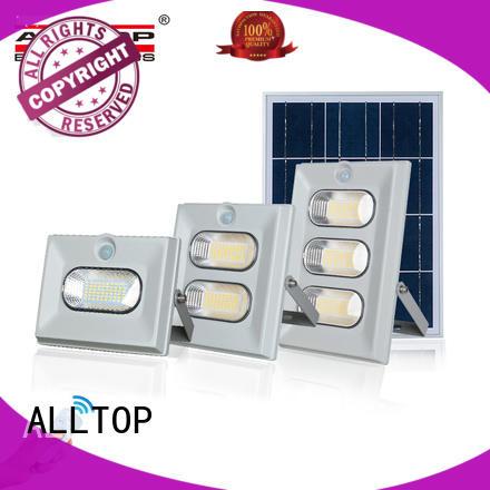 ALLTOP solar flood lamp manufacturers for stadium
