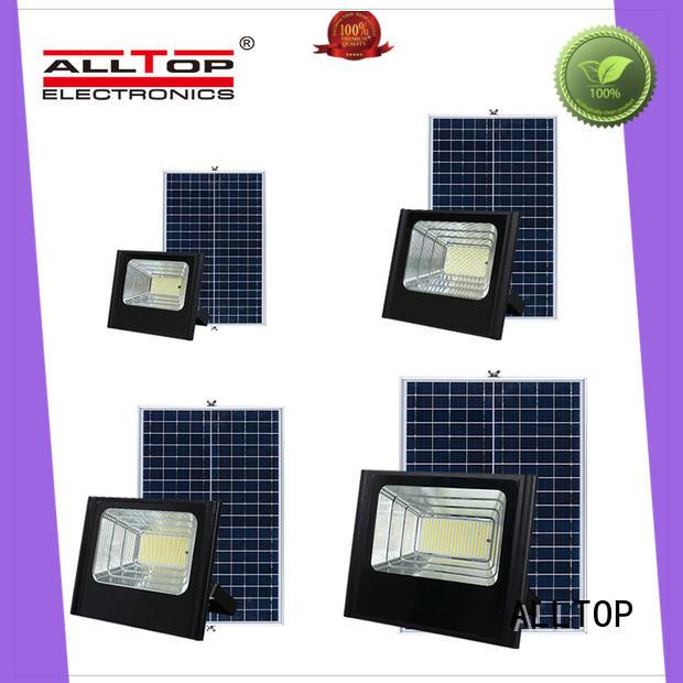 ALLTOP solar powered motion activated flood lights popular for spotlight