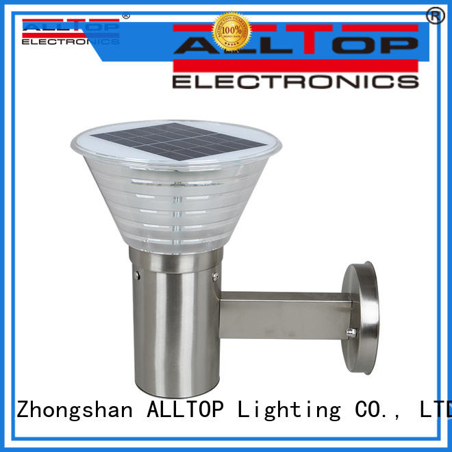 waterproof solar led wall lamp directly sale for garden