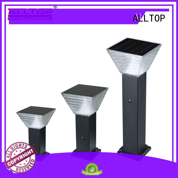 ALLTOP solar pillar lights supplier for decoration
