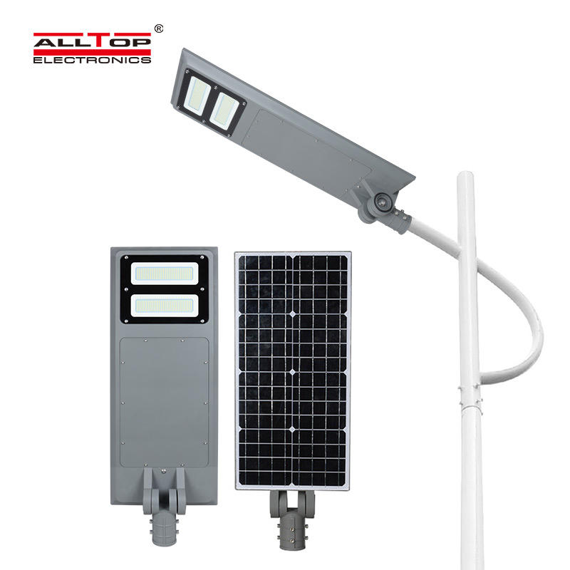 ALLTOP -Outdoor All In One Solar Led Street Light | Outside Solar Lights-2