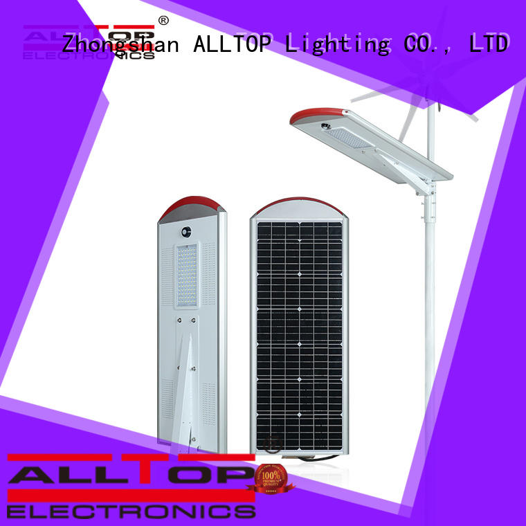 ALLTOP 30w solar street light supplier for outdoor yard