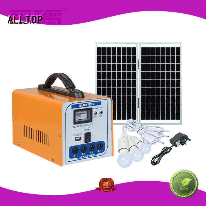 portable 12v solar lighting system free sample for outdoor lighting
