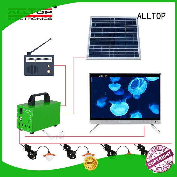 ALLTOP abs solar lighting system at discount for outdoor lighting