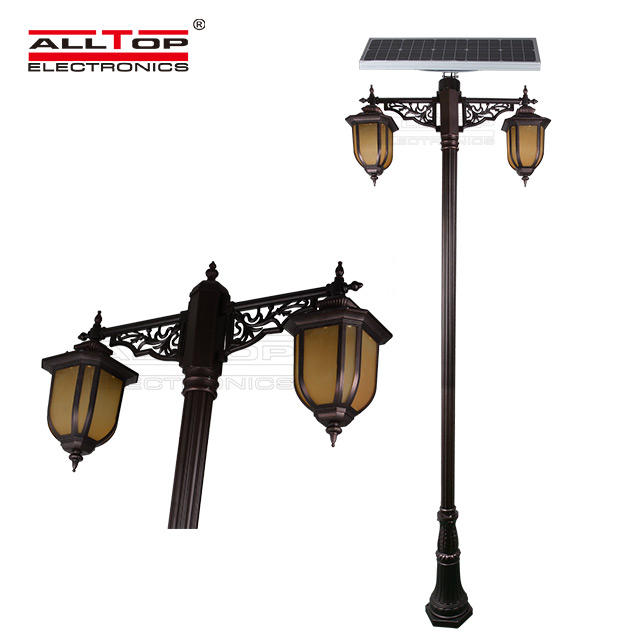 energy saving solar pillar lights supply for decoration-2